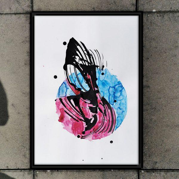 Wir lieben abstrakte Kunst! Jedes Piece ein Unikat!
