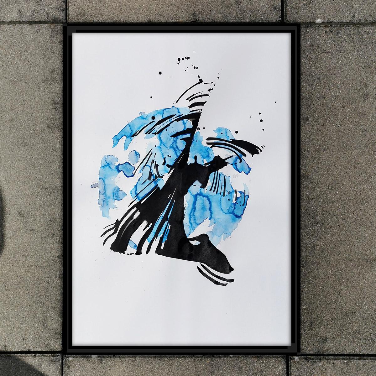 Abstrakte Kunst für Alle! Crazy, sexy, cool!