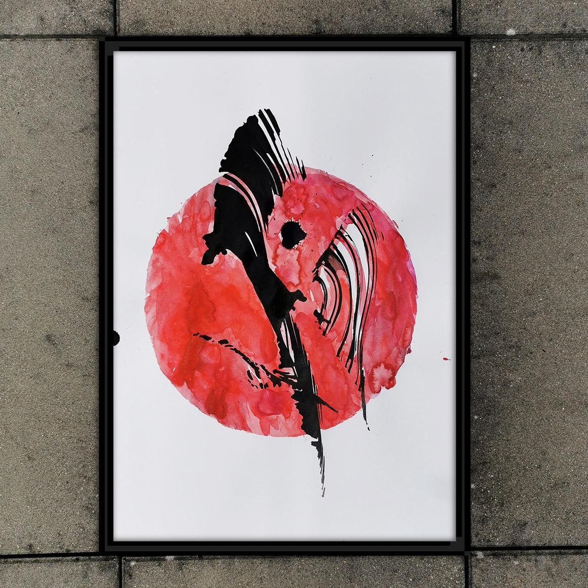 Abstrakte Kunst für Alle! Dekorativ, expressiv, liebevoll, mysteriös - nur echt mit magischen Kräften!